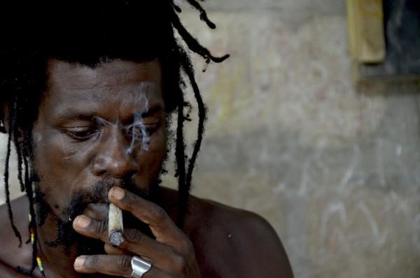 Chez les rastas du Ghana